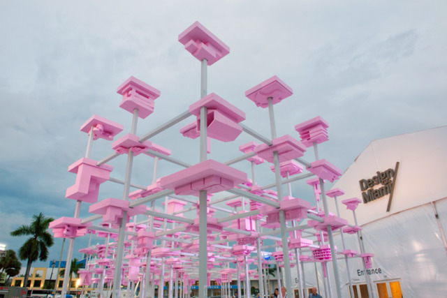 781fa33cac41 Design Miami Entrance Pavilion  Design Miami makes an opening statement  each year with a new