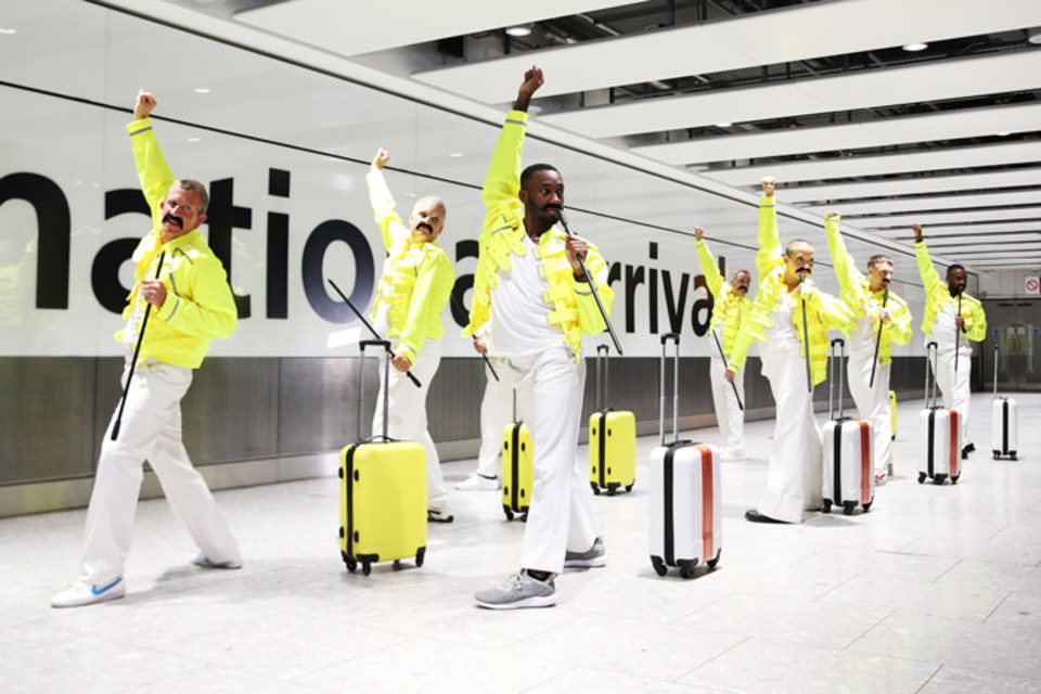 Watch: How British Airways Staged a Freddie Mercury Flash Mob