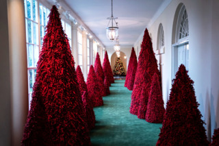 White House Holiday Decorations: Bold and Festive, Creepy, or Just Plain Tasteless?