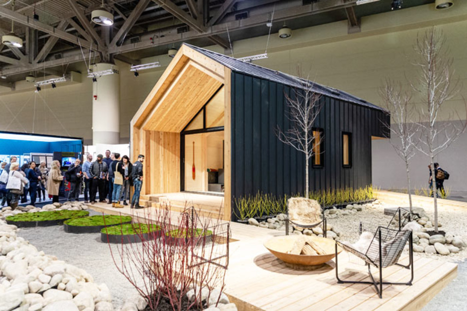 See 9 Stand-Out Trade Show Booths From This Interior Design Event