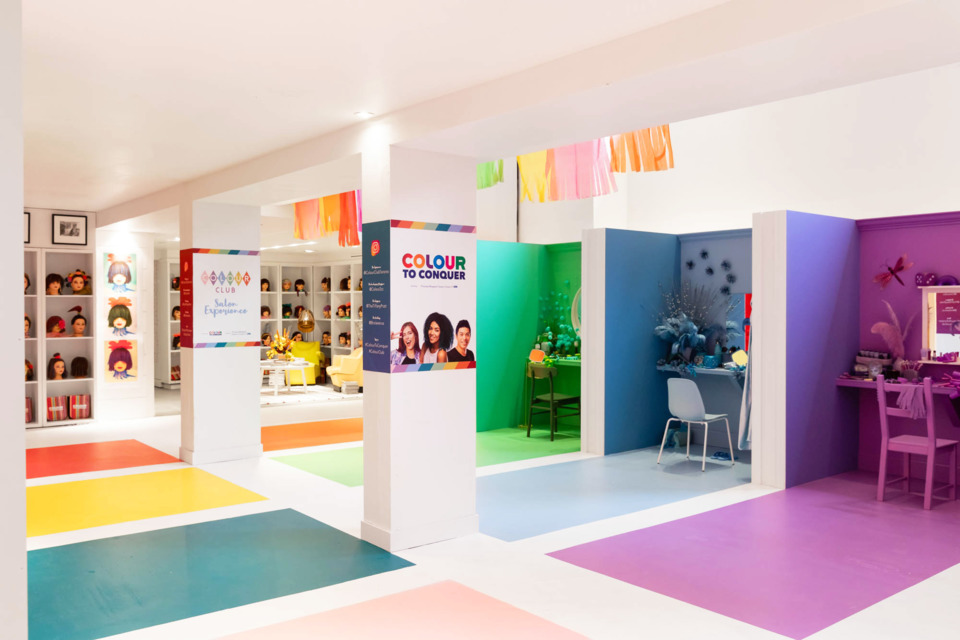 This Colorful Beauty Parlor Pop-Up Is Raising Awareness for a Cancer Fund-Raiser